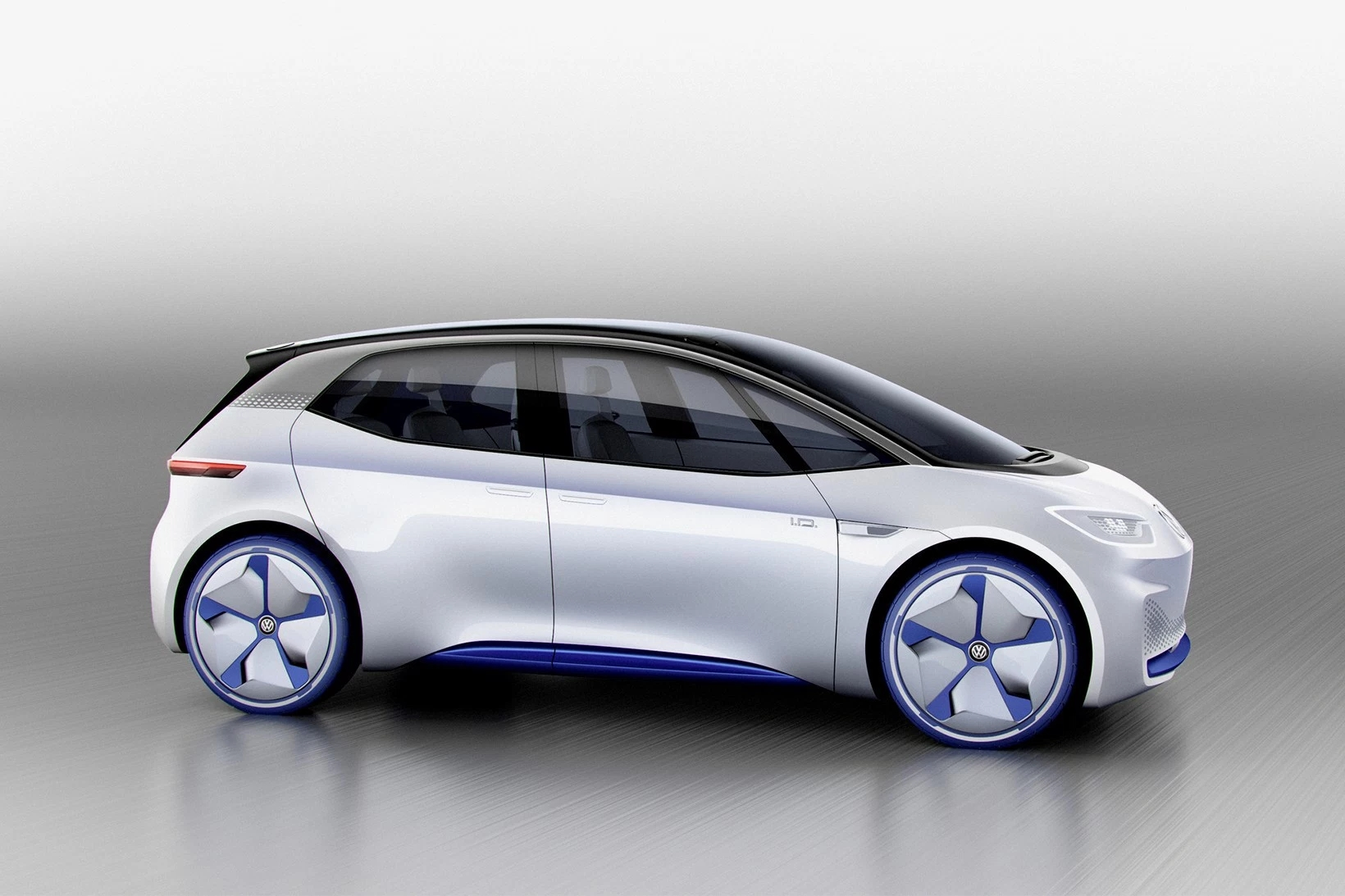 巴黎车展大众首款纯电动概念车I.D.Concept