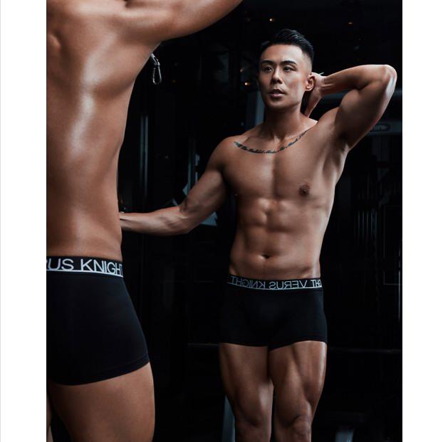 美丽纪实God-M超高织平角内裤,至简有型,释放你的野性能量