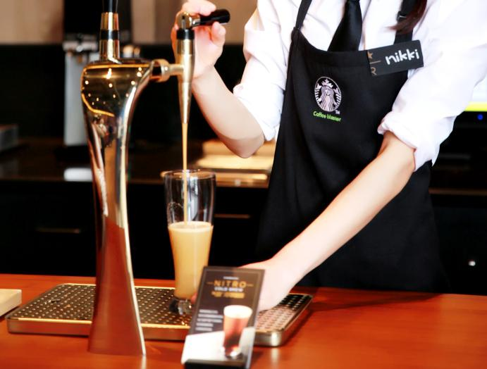 种草|星巴克创新气致冷萃咖啡全新口感世界真奇妙!