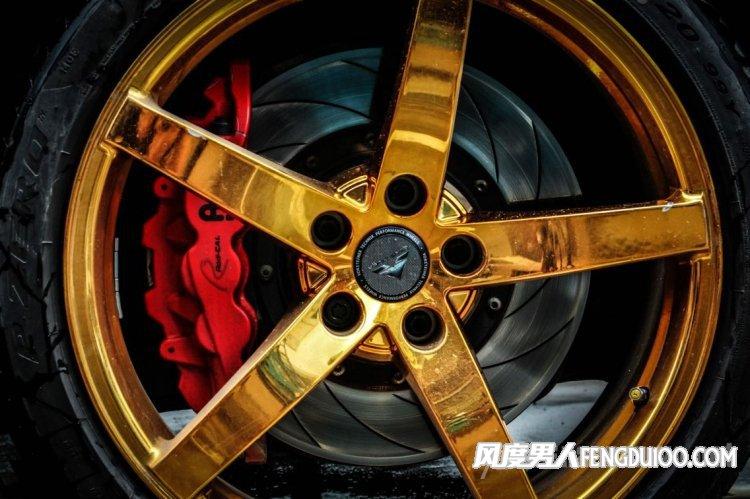 宝马5系轮毂改装