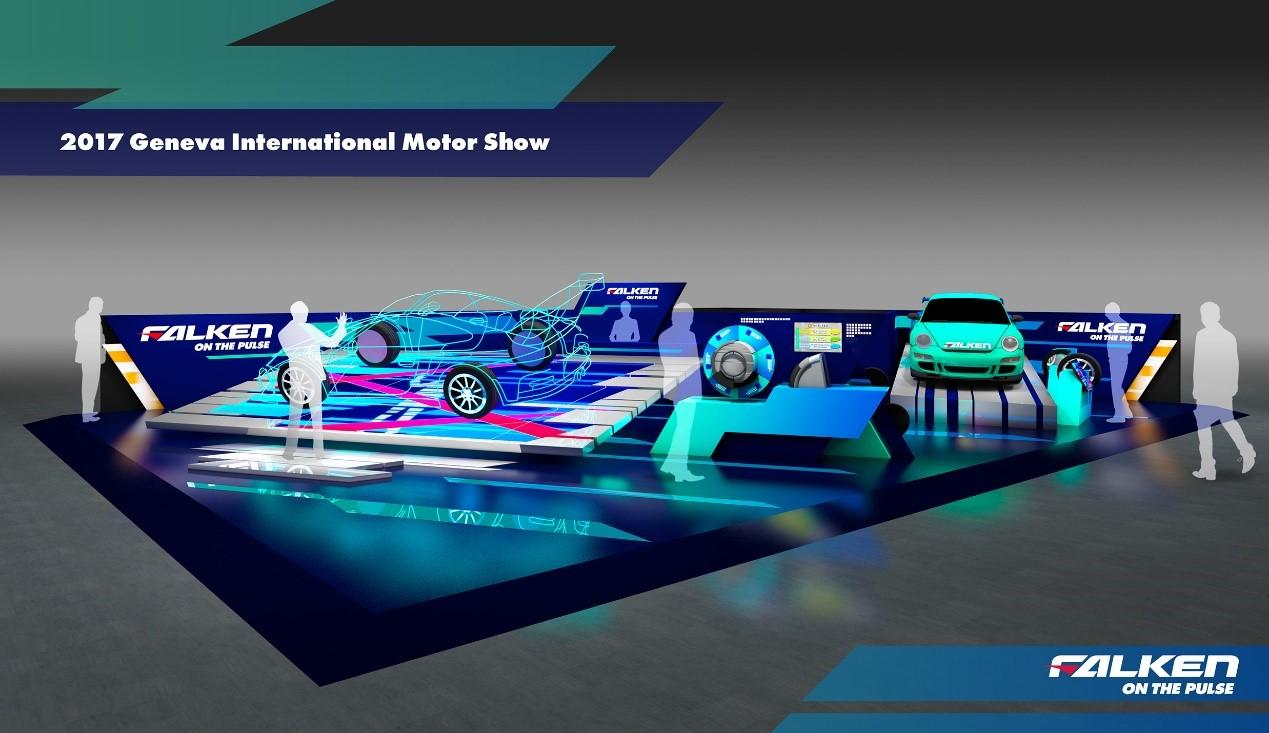 飞劲轮胎亮相第87届日内瓦国际车展 创新前沿不可小觑