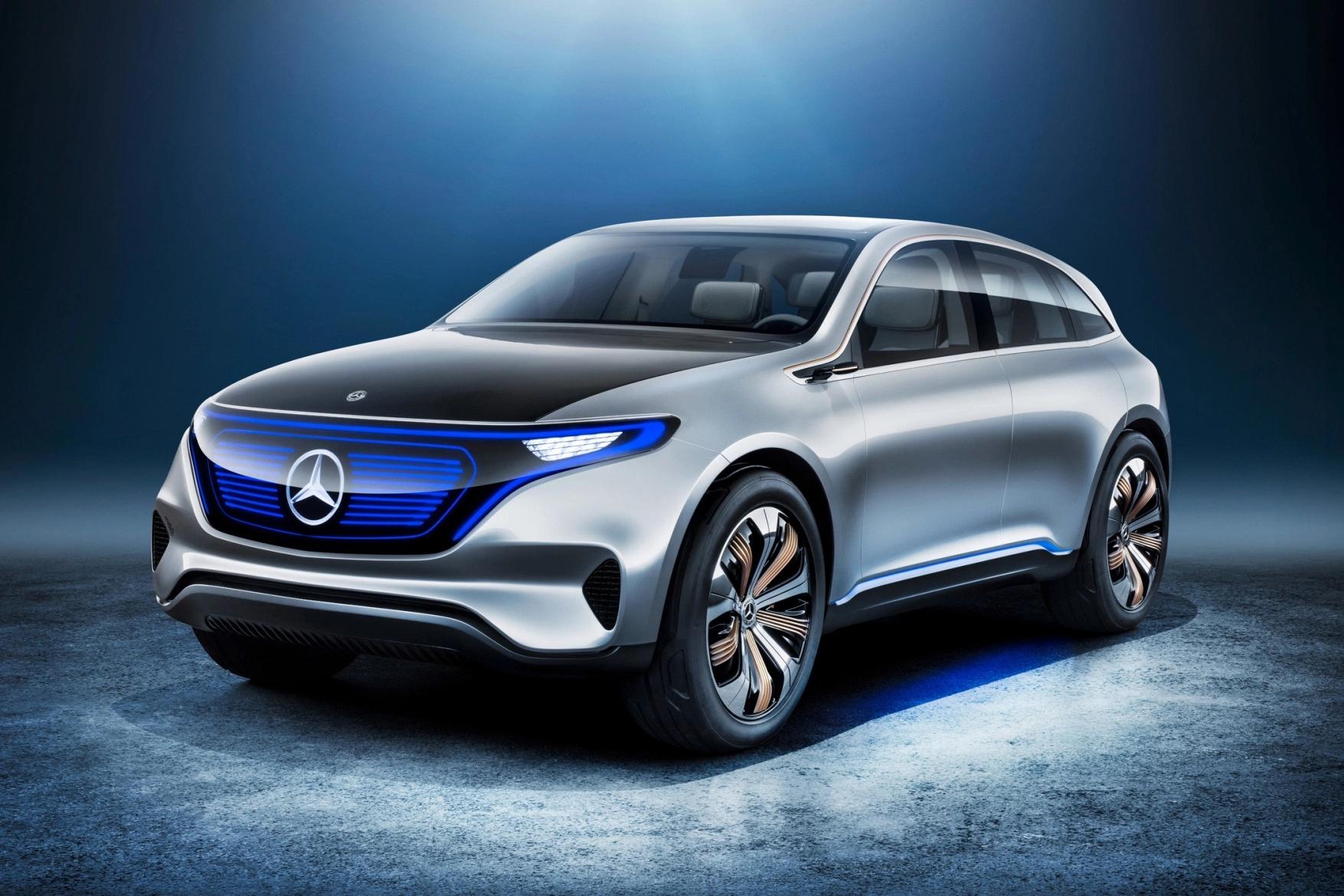 奔驰Generation EQ电动 SUV 概念车