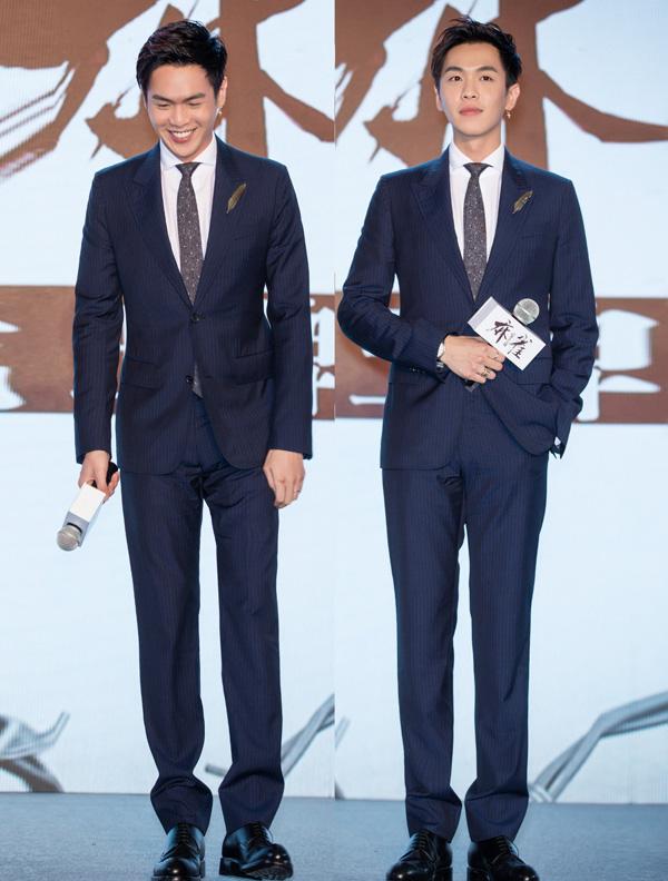 张若昀佩戴万国表葡萄牙系列腕表出席发布会