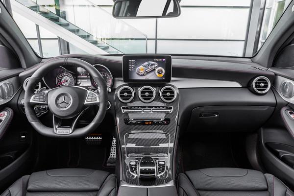 梅赛德斯-AMG GLC 43 Coupe官图发布