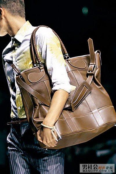帅气男士手提袋