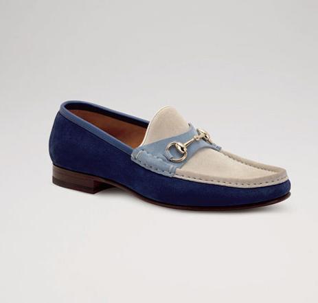 Gucci成衣系列复古男鞋