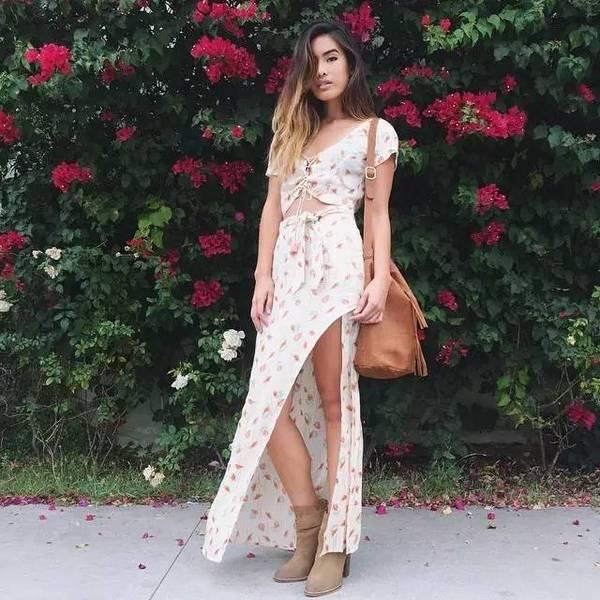 街拍 | 长裙年年有,但2016早秋的长裙特别美!